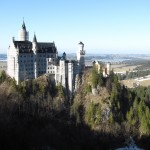 What surrounds Neuschwanstein