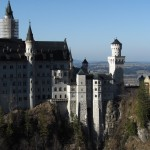 Overlooking Neuschwanstein from Marienbruecke
